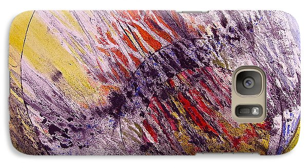 Galaxy Case featuring the painting Intersecting With Nature by Carolyn Rosenberger