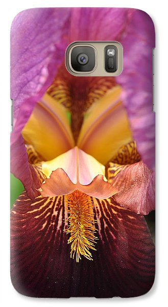 Galaxy Case featuring the photograph Into The Center by Sabine Edrissi