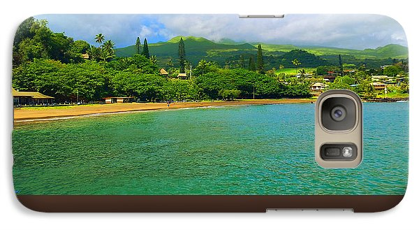 Galaxy Case featuring the painting Island Of Maui by Michael Rucker