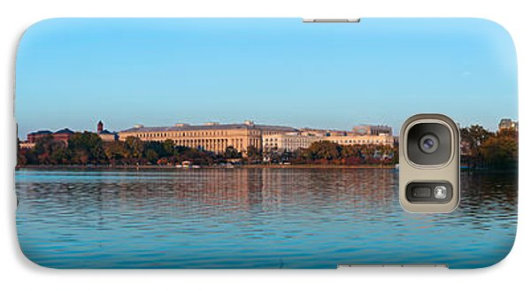 Jefferson Memorial And Washington Galaxy Case by Panoramic Images