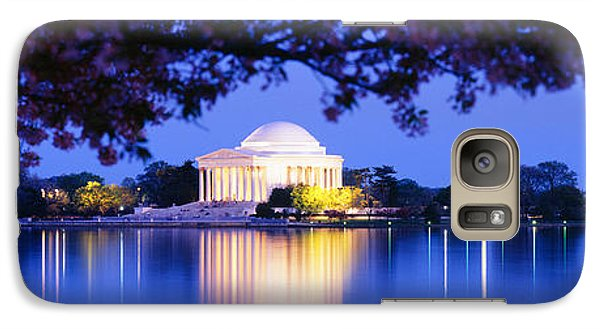 Jefferson Memorial, Washington Dc Galaxy S7 Case by Panoramic Images
