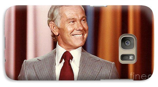 Johnny Carson Galaxy Case by Marvin Blaine