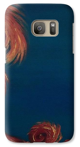 Galaxy Case featuring the painting Jumbie Under De' Ocean by Robert Nickologianis