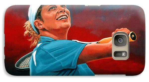 Kim Clijsters Galaxy Case by Paul Meijering