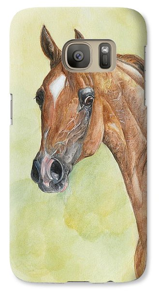 Galaxy Case featuring the painting Kwestura by Janina  Suuronen