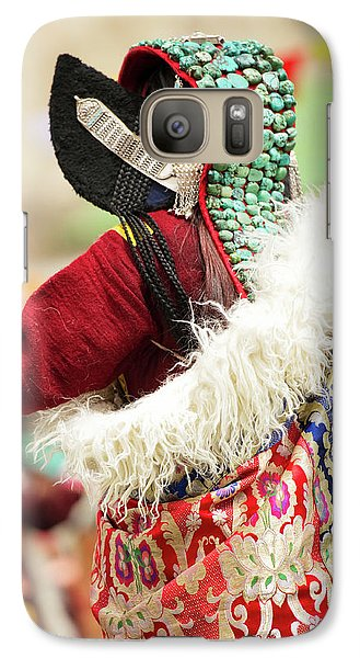Ladakh, India Married Ladakhi Women Galaxy S7 Case by Jaina Mishra