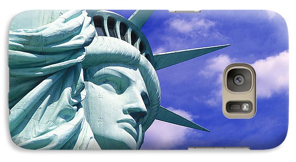Lady Liberty Galaxy Case by Jon Neidert