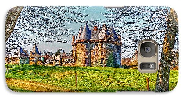 Galaxy Case featuring the photograph Chateau De Landale by Elf Evans