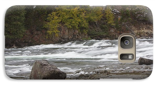 Galaxy Case featuring the photograph Lehardy Rapids by Gerry Sibell
