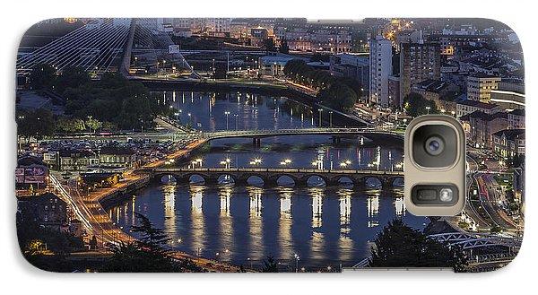 Galaxy Case featuring the photograph Lerez River Pontevedra Galicia Spain by Pablo Avanzini
