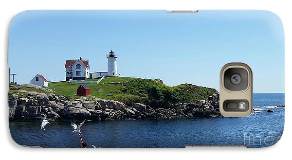 Galaxy Case featuring the photograph Light House by Rose Wang