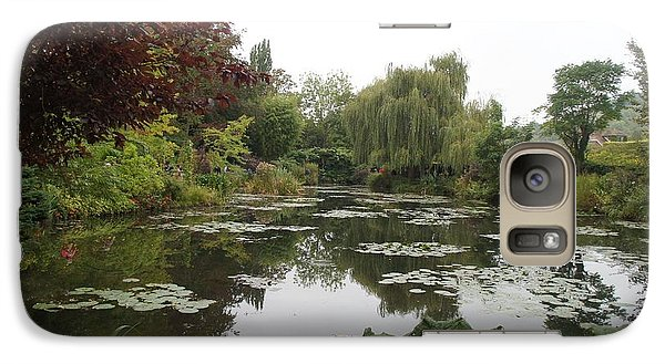 Galaxy Case featuring the photograph Lilly Pads by Kristine Bogdanovich