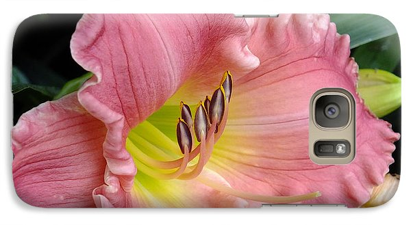 Galaxy Case featuring the photograph Lily Pink by Gene Cyr
