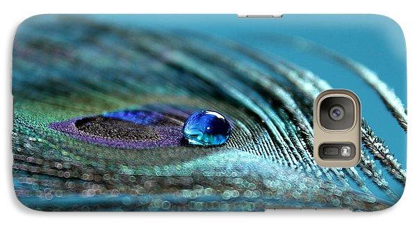 Peacock Galaxy S7 Case - Liquid Blue by Krissy Katsimbras