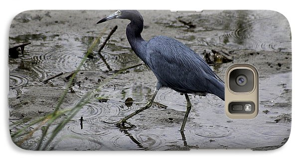 Galaxy Case featuring the photograph Little Blue Heron by Jeanne Kay Juhos