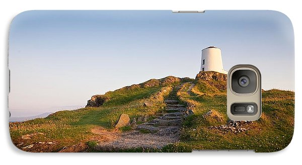 Galaxy Case featuring the photograph Llanddwyn Island by Stephen Taylor