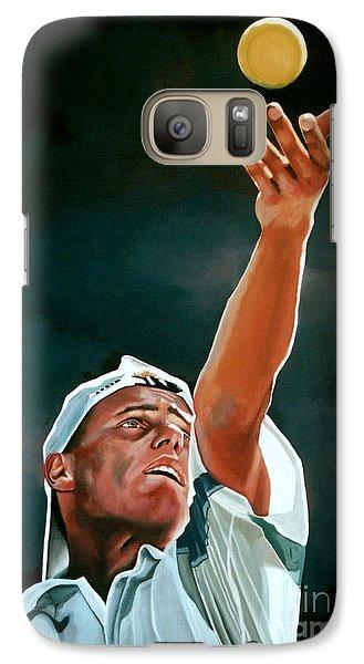 Lleyton Hewitt Galaxy S7 Case by Paul Meijering