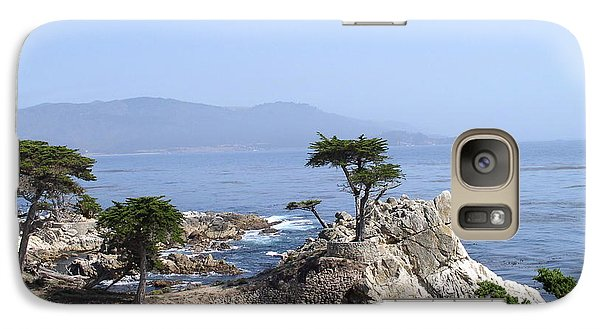 Galaxy Case featuring the photograph Lone Cypress by Bev Conover