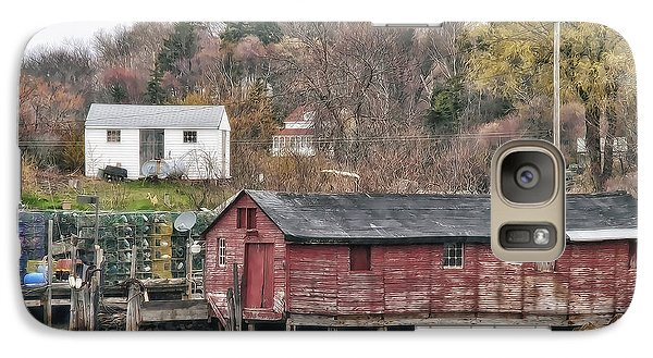Galaxy Case featuring the photograph Long Island Maine by Richard Bean