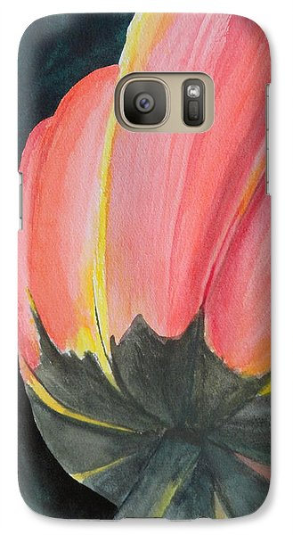 Galaxy Case featuring the painting Looking Up by Betty-Anne McDonald