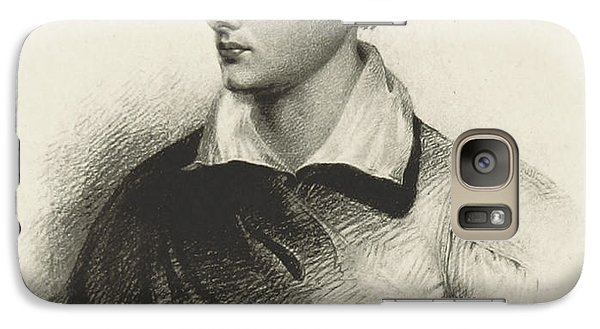Galaxy Case featuring the photograph Lord Byron, English Romantic Poet by British Library