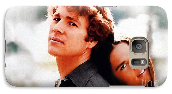 Love Story Ali Macgraw Ryan O'neal Galaxy Case by Marvin Blaine