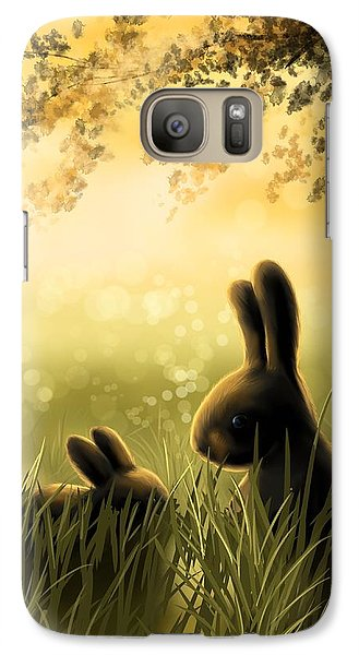Love Galaxy Case by Veronica Minozzi