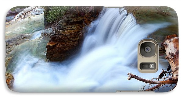 Galaxy Case featuring the photograph Lower Virginia Cascades by Aaron Whittemore