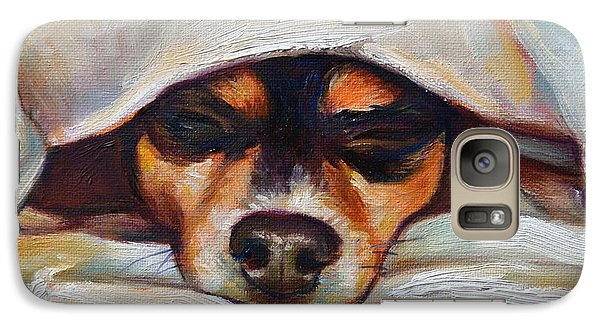 Galaxy Case featuring the painting Lulu by Robert Phelps