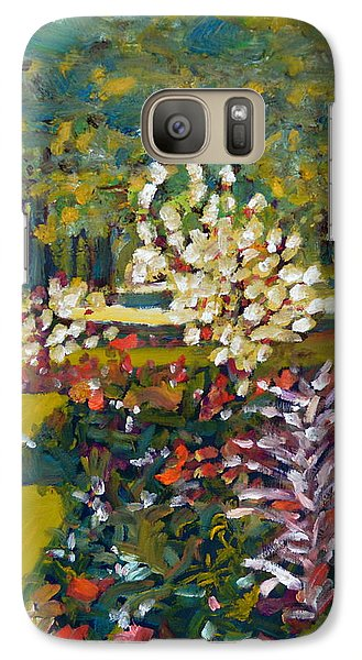 Galaxy Case featuring the painting Luxembourg Gardens by Julie Todd-Cundiff