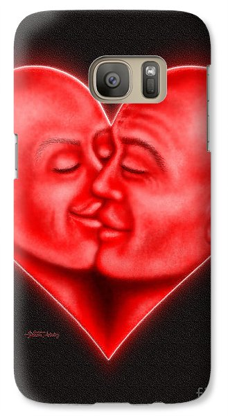 Galaxy Case featuring the digital art Mad Love by Cristophers Dream Artistry
