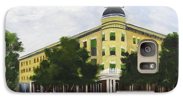Galaxy Case featuring the painting Majestic Hotel  by Barbara Haviland