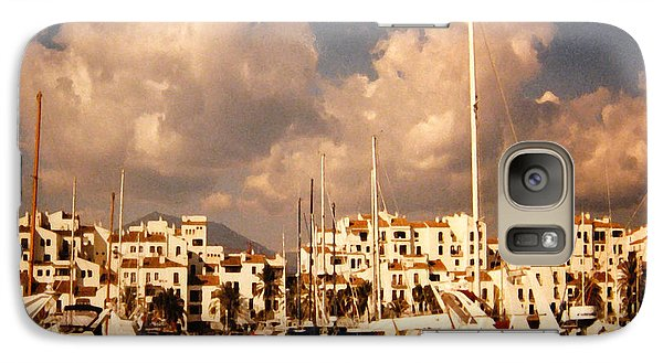 Galaxy Case featuring the photograph Marbella by Patricia Januszkiewicz