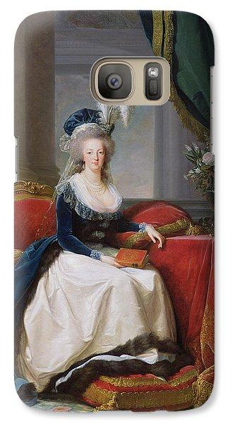Marie Antoinette Galaxy S7 Case by Elisabeth Louise Vigee-Lebrun
