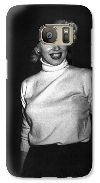 Marilyn Monroe In Korea Galaxy S7 Case