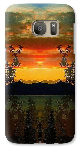 Galaxy Case featuring the photograph Marsh Lake - Yukon by Juergen Weiss