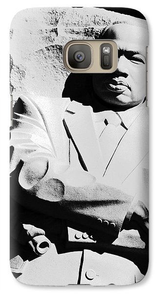 Galaxy Case featuring the photograph Martin Luther King Memorial by Cora Wandel