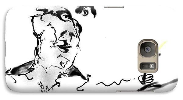 Galaxy Case featuring the digital art Martini by Gabrielle Schertz