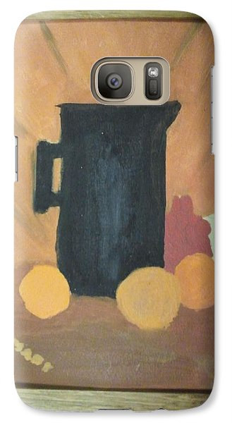Galaxy Case featuring the painting #1 by Mary Ellen Anderson