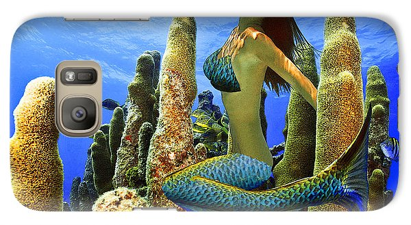 Masked Mermaid Galaxy S7 Case