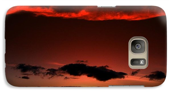 Galaxy Case featuring the photograph Maui Sunset by Ron Roberts