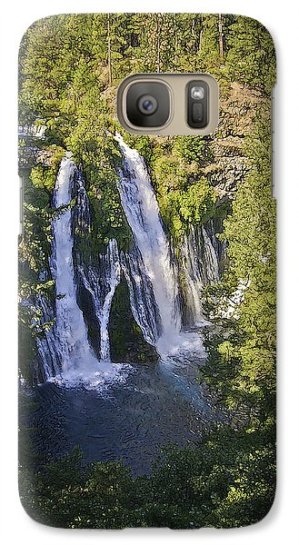 Galaxy Case featuring the photograph Mcarthur-burney Falls by Sherri Meyer