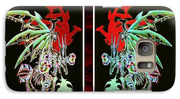 Mech Dragons Pastel Galaxy S7 Case