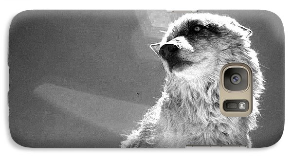 Galaxy Case featuring the photograph Medicine Wolf by Deborah Moen