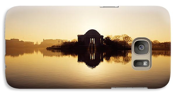 Memorial At The Waterfront, Jefferson Galaxy Case by Panoramic Images