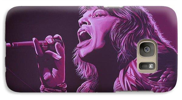 Mick Jagger 2 Galaxy S7 Case by Paul Meijering