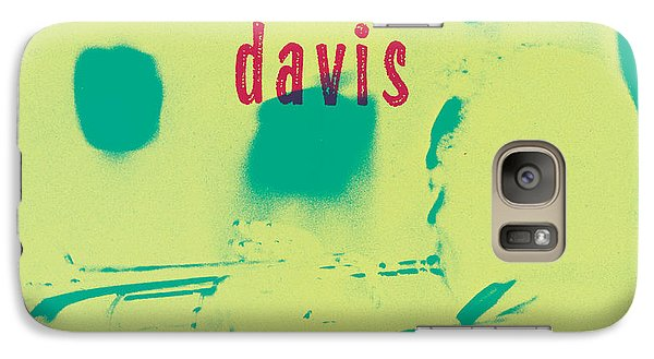 Trumpet Galaxy S7 Case - Miles Davis -  Blue Moods by Concord Music Group
