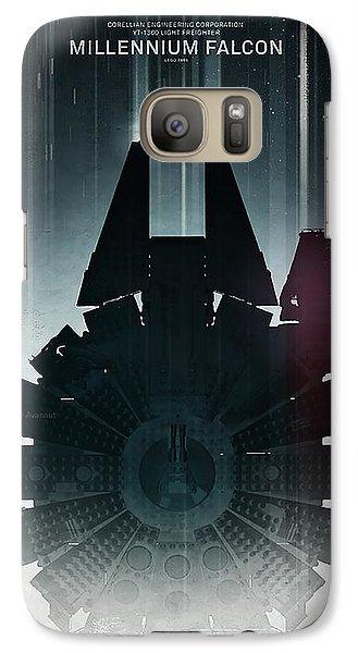 Millennium Falcon Galaxy S7 Case