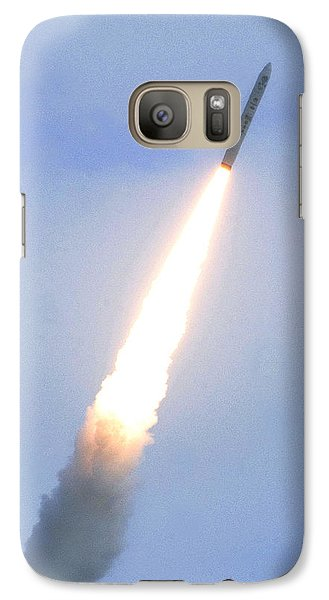 Minotaur Iv Lite Launch Galaxy Case by Science Source