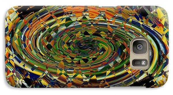 Galaxy Case featuring the digital art Modern Art I by rd Erickson